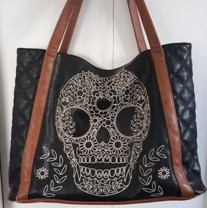 Skull Laptop/Book Bag